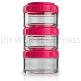 Blender Bottle GoStak Pink 3x60 ml