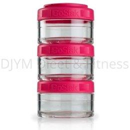 Blender Bottle GoStak Pink 3x60 ml