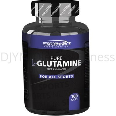 Performance Glutamine 100 caps