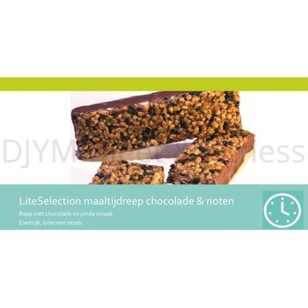 Lignavita Lignavita Litselection maaltijdreep chocolade en noten