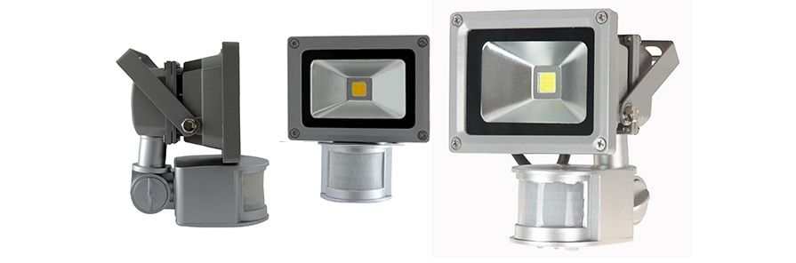 LED projector Floodlight 10W met sensor