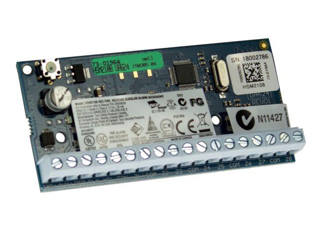DSC DSC HSM2108 Bedrade ingangsmodule voor 8 zones