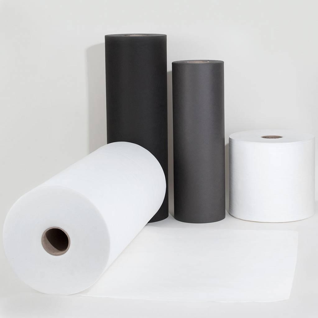 PP-Spinnvliesstoff 80 g/m², Weiß, Breite 160 cm, 250 m