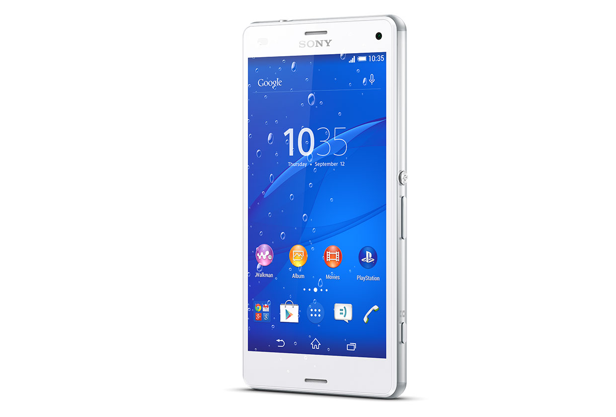 Display Reparatur Farbe Sony Xperia Z3 Compact weiss