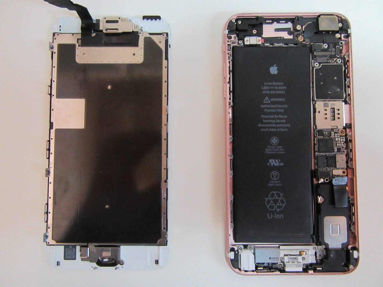 so sieht also das iphone 6s von innen aus. Black Bedroom Furniture Sets. Home Design Ideas
