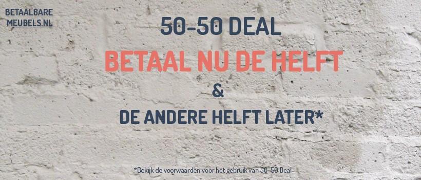Betaalbaremeubels 50-50 Deal
