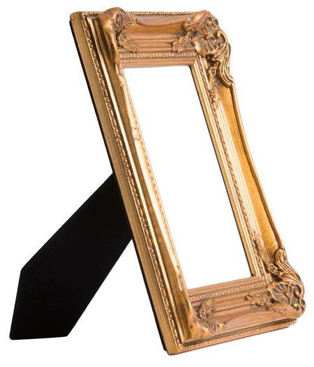 Catania - Gouden fotokader van hout
