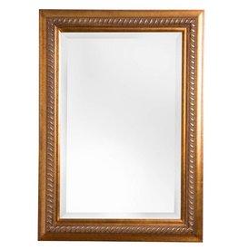 Ferrara - spiegel met goud bruine kader