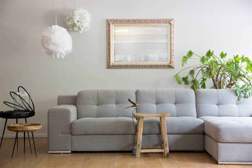 zaragoza spiegel met barok zilveren kader kunstspiegel be. Black Bedroom Furniture Sets. Home Design Ideas