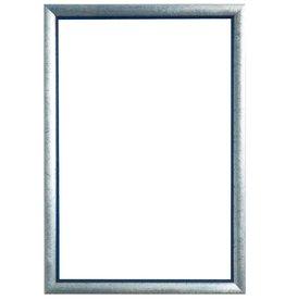 Atessa - sfeervolle zilver met blauwe kader