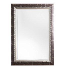 Bosa - spiegel met zilver bruine kader