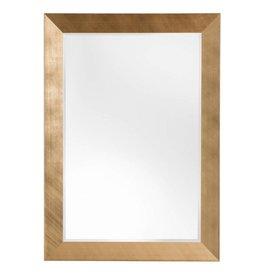 Siracusa - spiegel met moderne gouden kader