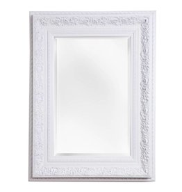 Genova - spiegel met barok witte kader