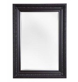Antibes - spiegel met barok zwarte kader van hout