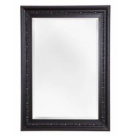 Murcia - facet spiegel met unieke zwarte kader