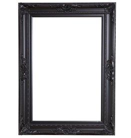 Nice - zwarte barok kader met ornament