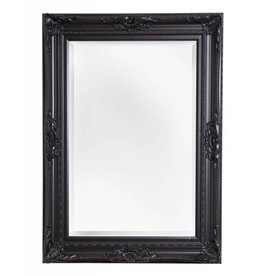 Nice - sfeervolle spiegel met zwarte barok kader