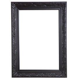 Turin - zwarte barok kader van hout