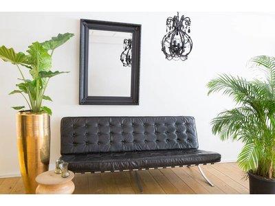 Bari - Zwart (met spiegel)