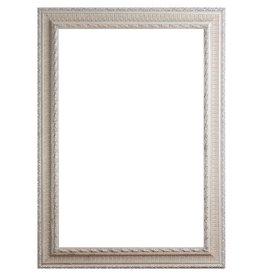 Nyons - barok zilveren kader van hout