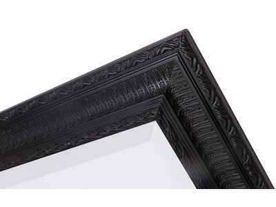 Nyons - Zwart (met spiegel)