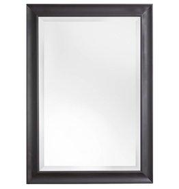 Haarlem - spiegel met tijdloze zwarte kader