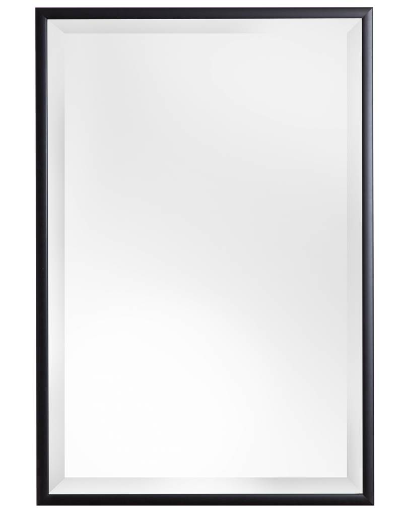 Levie betaalbare spiegel met zwarte kader kunstspiegel be for Zwarte spiegel