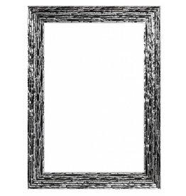 Toscane - Zwart zilveren designkader