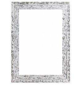 Toscane - Wit zilveren designkader