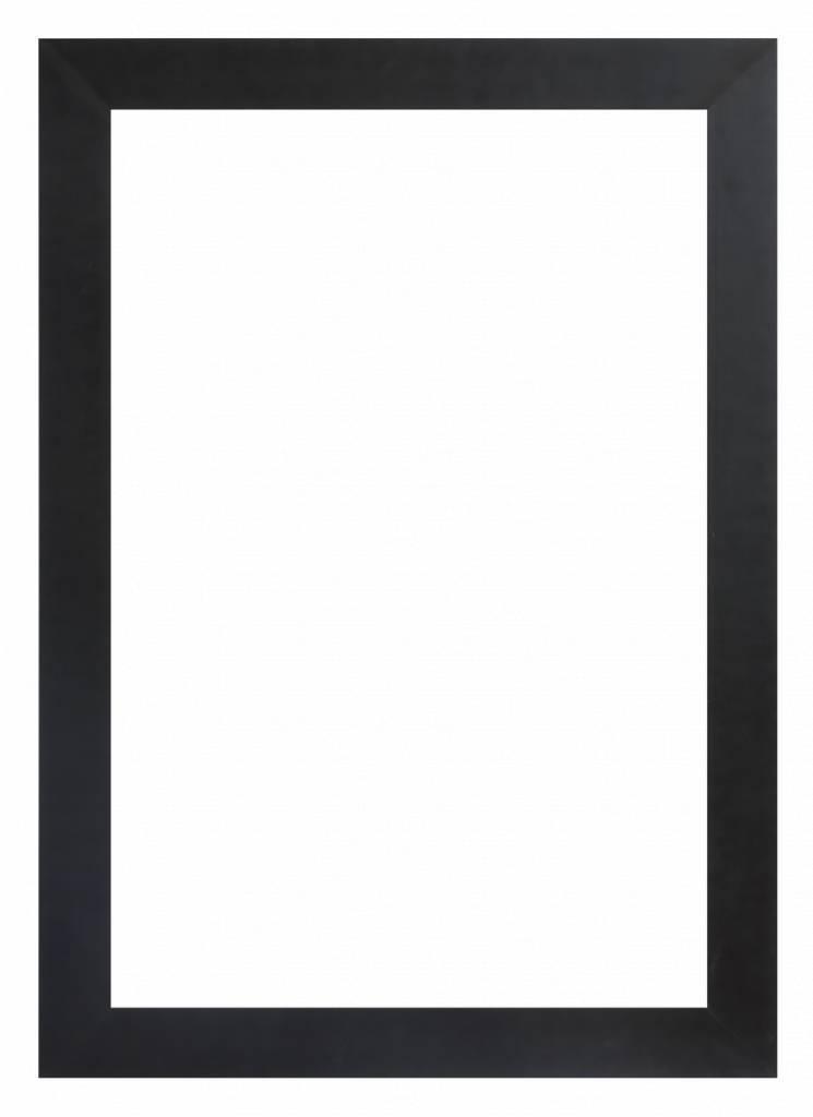 milano brede zwarte kader kunstspiegel be. Black Bedroom Furniture Sets. Home Design Ideas