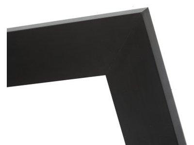 Milano - brede zwarte kader