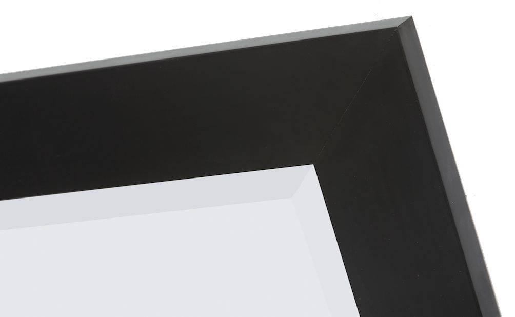 Milano moderne spiegel met brede zwarte kader for Spiegel zwarte lijst