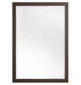 Sardinia Medio - spiegel met luxe donker houten kader