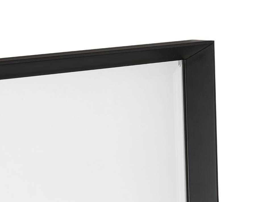 Zwarte Ronde Spiegel : Ronde staande spiegel bol zuiver round wall spiegel bruin