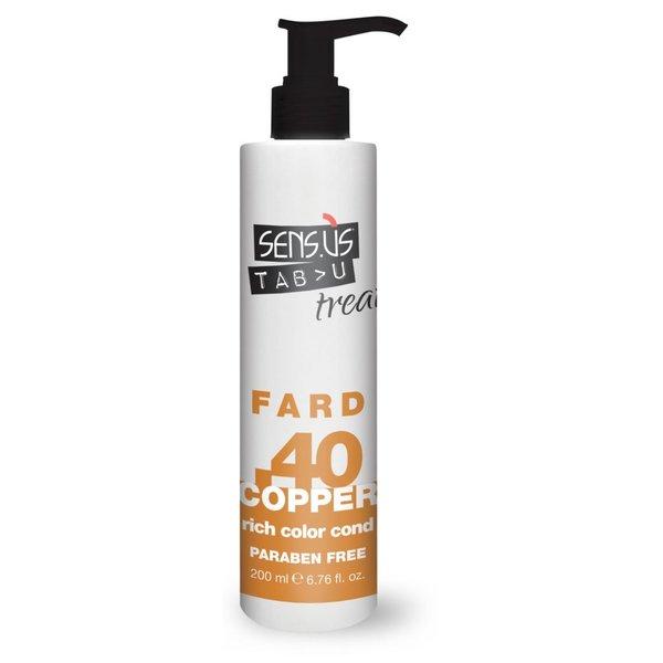 Sens.ùs Tabu treat fard copper .40 200 ml