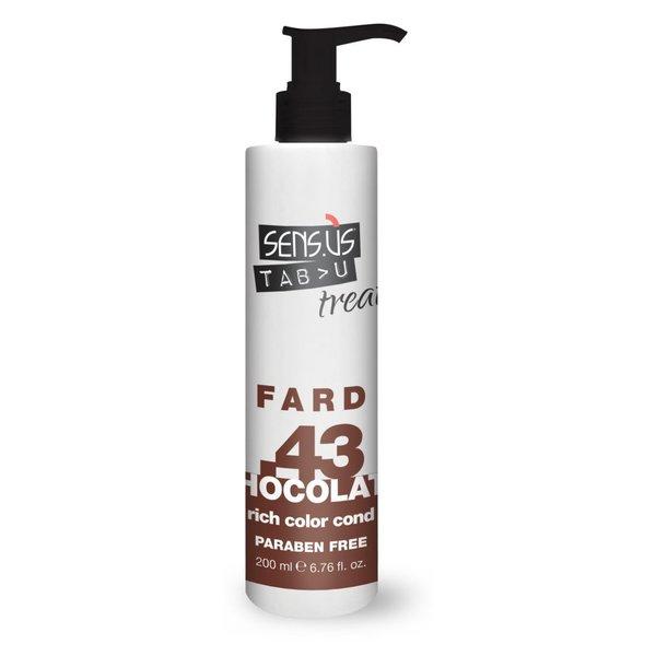 Sens.ùs Tabu treat fard chocolate .43 200 ml