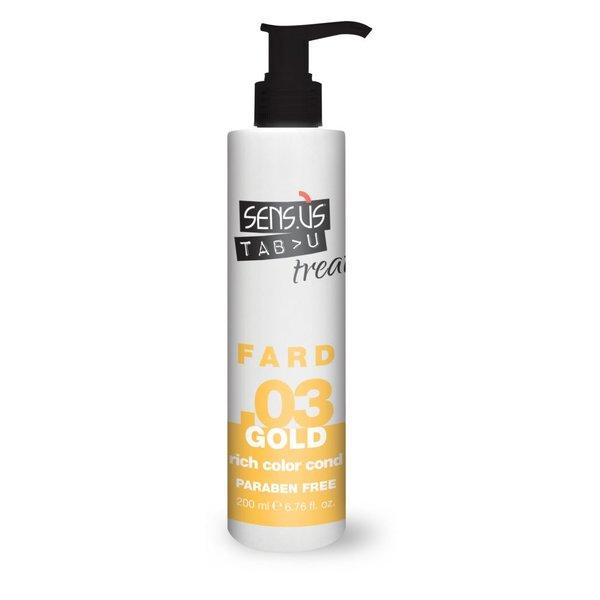 Sens.ùs Tabu treat fard gold .03 200 ml