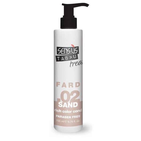 Sens.ùs Tabu treat fard sand .02 200 ml