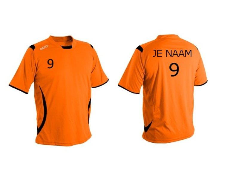 Oranje Shirt (+ naam en nummer)
