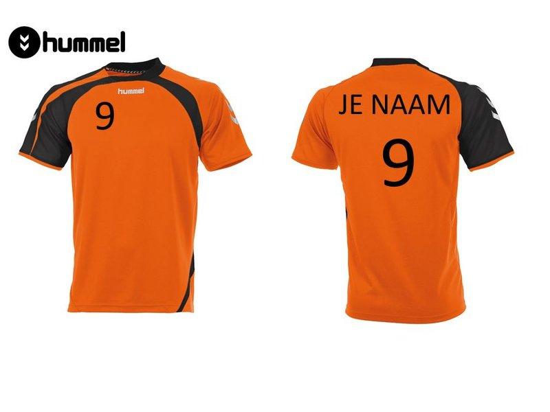 Hummel Odense Oranje Shirt (+ naam en nummer)