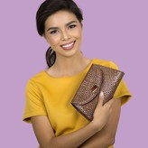 Jessa Clutch Brown