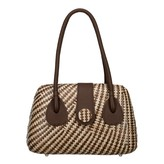 Lanero Bag Stripe Brown