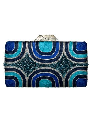 Diwata Clutch Blue