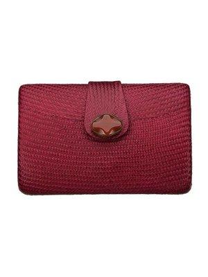 Maganda Clutch Red Pearl