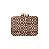 Yiotu Clutch Brown Cream