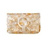 Envelop Clutch Gold