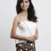Coco Envelop Clutch Brown