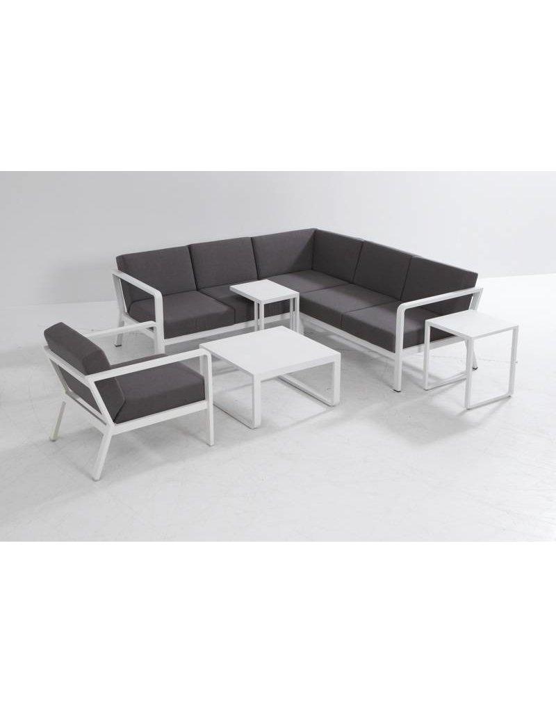 Casa Outdoor Domino Loungechair Carbon