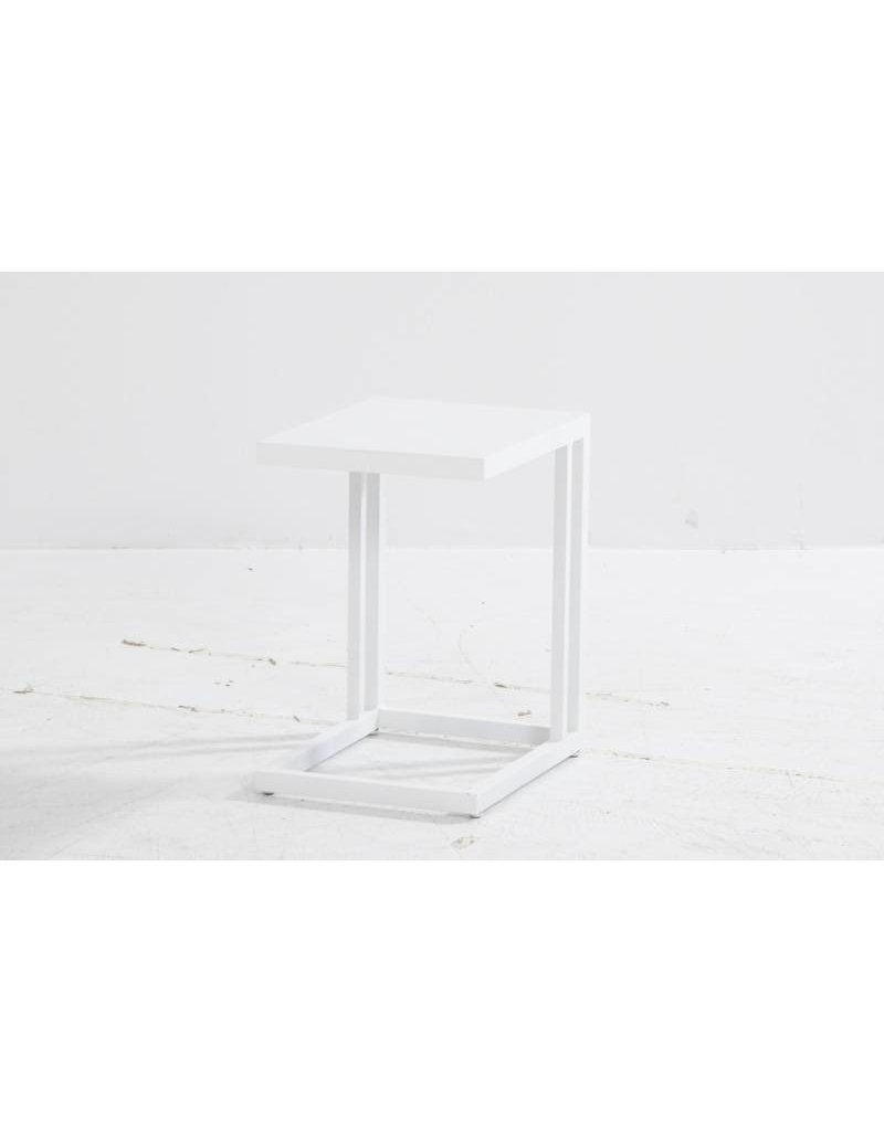 Casa Outdoor Domino support table 35x45cm in White