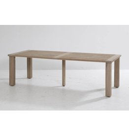 4 Seasons Outdoor Louvre diningtable 240x95cm